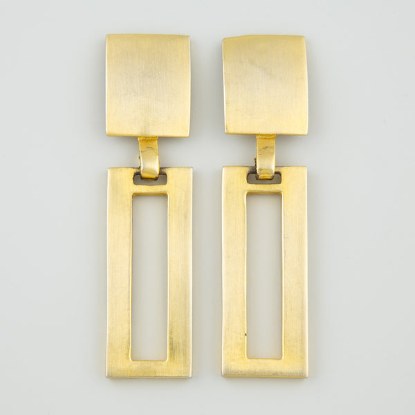 Epic hanging statement earrings