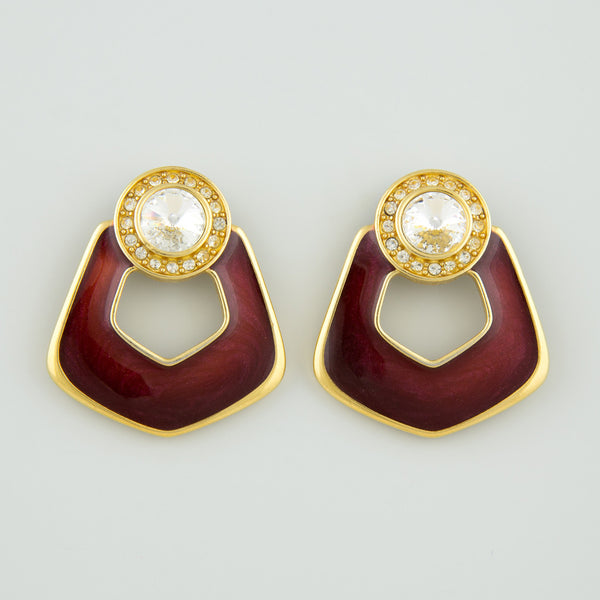 Standout Deco statement earrings