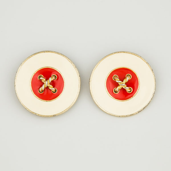 Sailor chic statement earrings