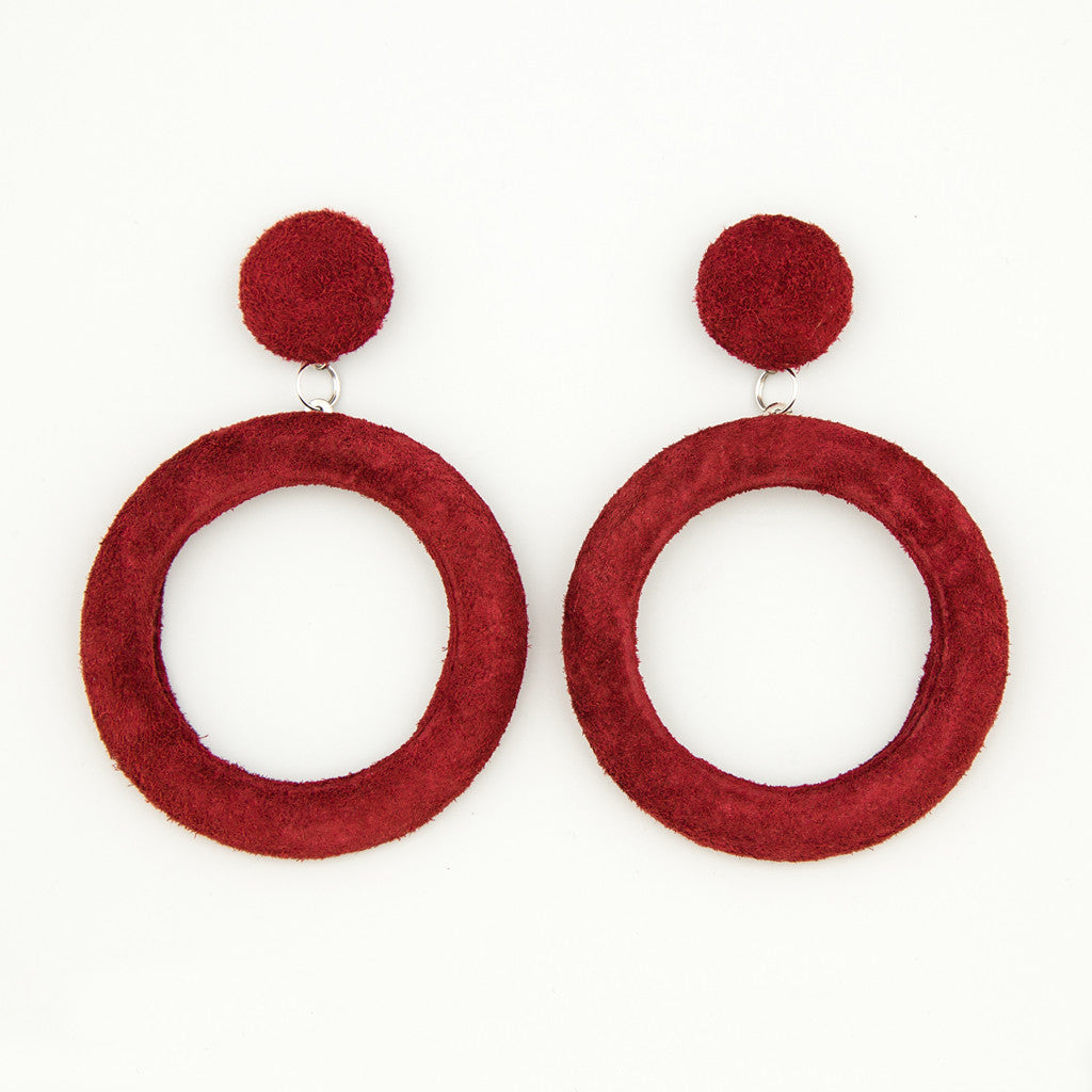 Rouge revival statement earrings