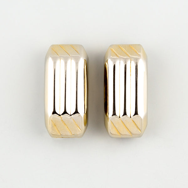 Straight up statement earrings