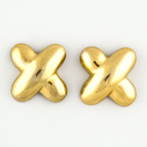 Cross to bear statement earrings