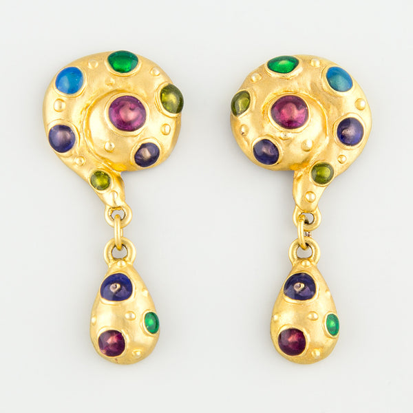 Colour pop statement earrings