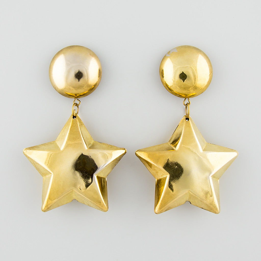 All starry statement earrings