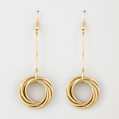Agent swoon statement earrings