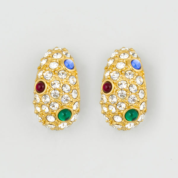 Almost royal statement earrings
