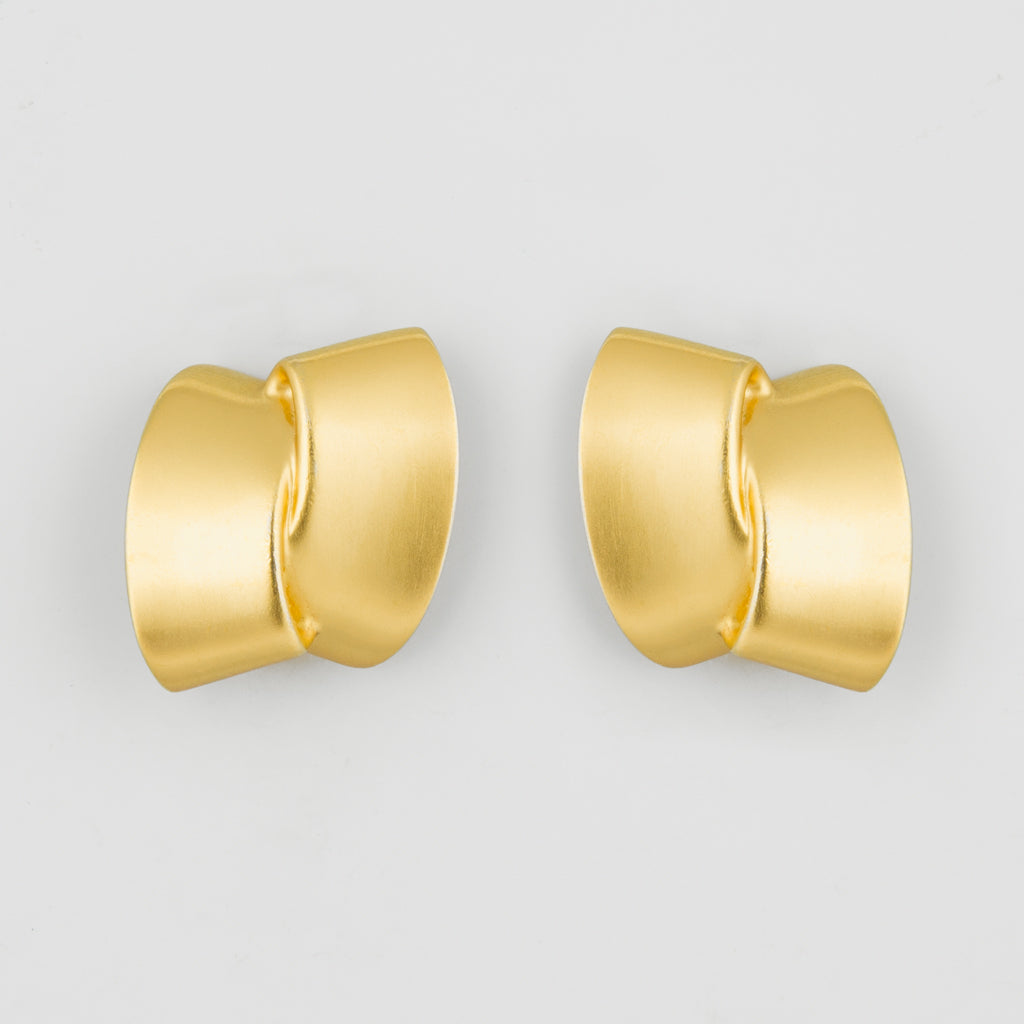 Stud power statement earrings