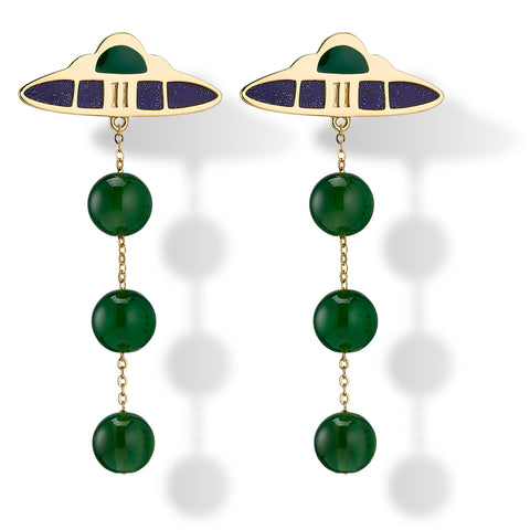 Ascension statement earrings