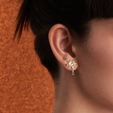 Cosmo statement earrings