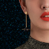 Formation statement earrings