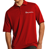 Men's Red Exceed Polo