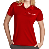 Women's Red Exceed Polo