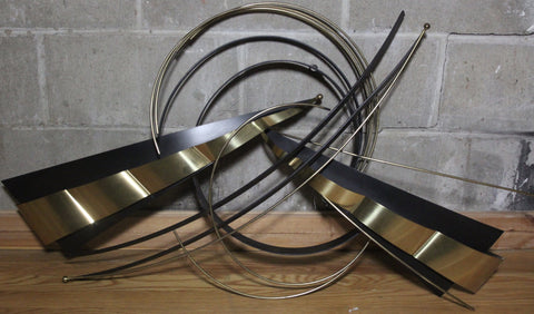 SOLD:Abstract Curtis Jere Metal Sculpture