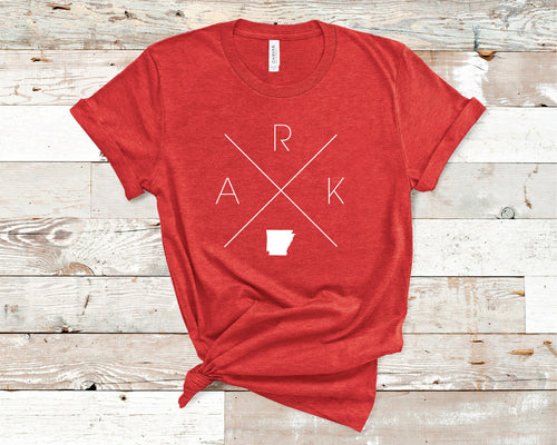 Arkansas Home Tee - Home Sweet Pillow Co