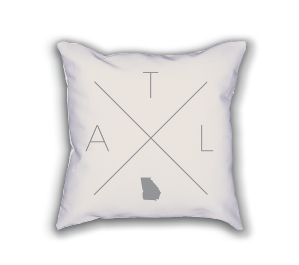 Atlanta Home Pillow - Home Sweet Pillow Co