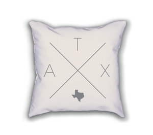 Austin Home Pillow - Home Sweet Pillow Co