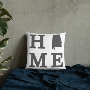 Alabama Home State Pillow - Home Sweet Pillow Co