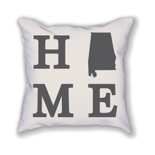 Load image into Gallery viewer, Alabama Home State Pillow - Home Sweet Pillow Co