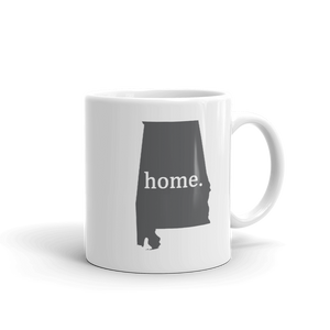 Alabama Home State Mug - Home Sweet Pillow Co