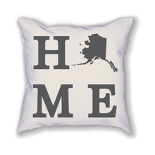 Load image into Gallery viewer, Alaska Home State Pillow - Home Sweet Pillow Co