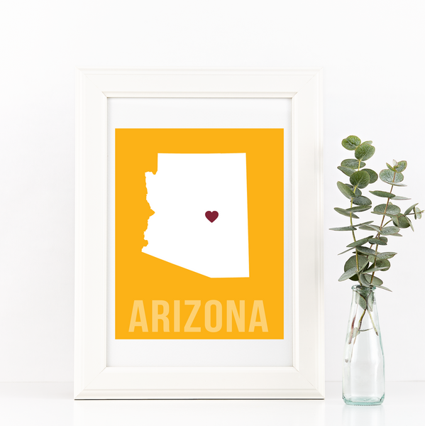 Arizona Print - Home Sweet Pillow Co