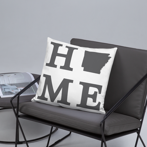 Arkansas Home State Pillow - Home Sweet Pillow Co