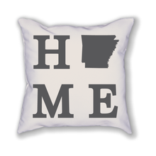 Load image into Gallery viewer, Arkansas Home State Pillow - Home Sweet Pillow Co