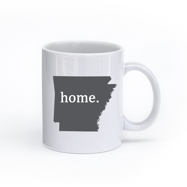Arkansas Home State Mug - Home Sweet Pillow Co
