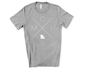 MCI – Kansas City International Airport Tee - Home Sweet Pillow Co