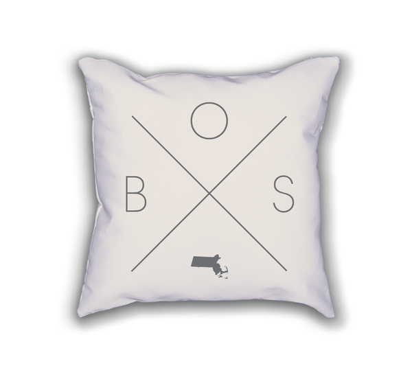 Boston Home Pillow - Home Sweet Pillow Co