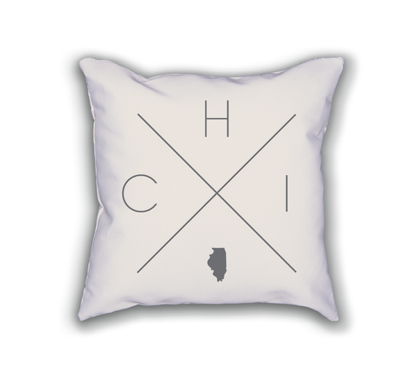Chicago Home Pillow - Home Sweet Pillow Co