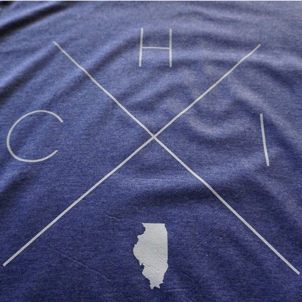 Chicago Home Tee - Home Sweet Pillow Co