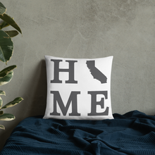 Load image into Gallery viewer, California Home State Pillow - Home Sweet Pillow Co