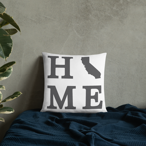 California Home State Pillow - Home Sweet Pillow Co