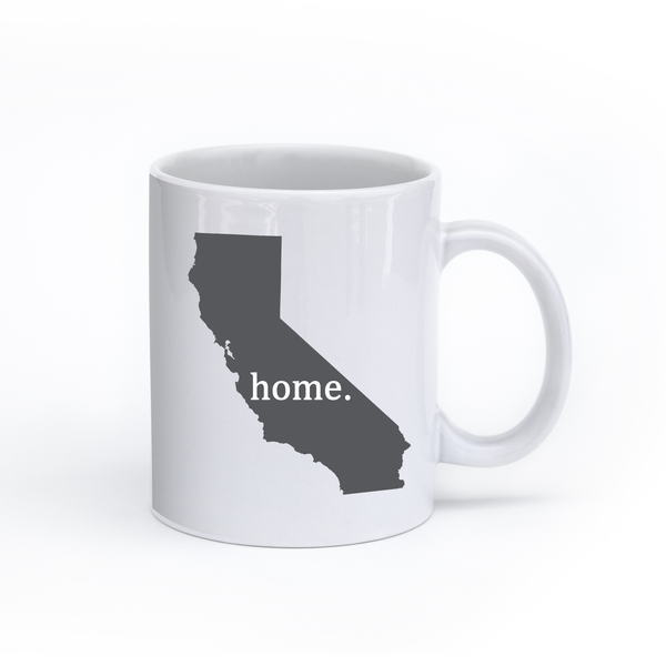 California Home State Mug - Home Sweet Pillow Co