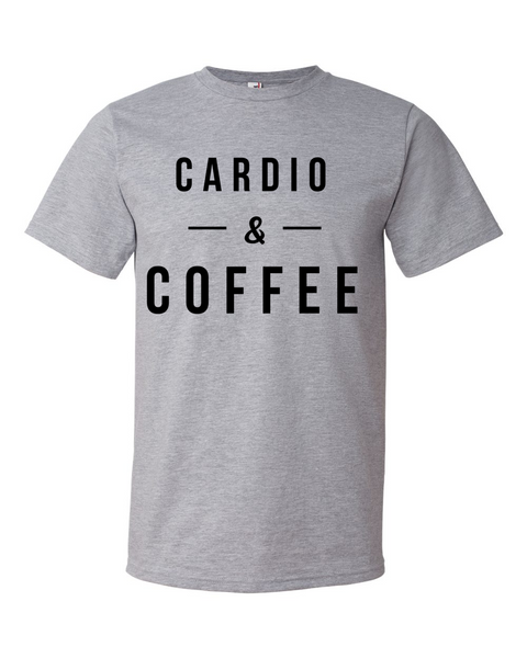 Cardio & Coffee Shirt - Home Sweet Pillow Co