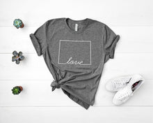 Load image into Gallery viewer, Colorado Love Shirt - Home Sweet Pillow Co