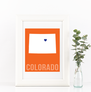 Colorado Print - Home Sweet Pillow Co