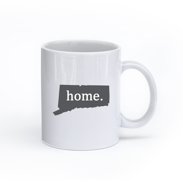 Connecticut Home State Mug - Home Sweet Pillow Co