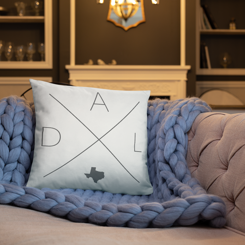 Dallas Home Pillow - Home Sweet Pillow Co