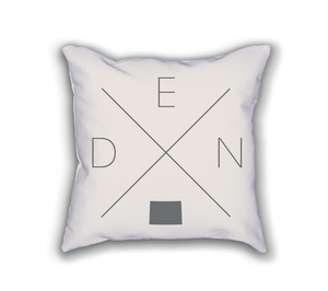 Denver Home Pillow - Home Sweet Pillow Co