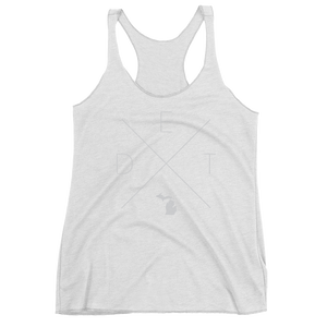 Detroit Racerback Tank - Home Sweet Pillow Co