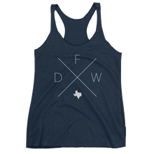 Load image into Gallery viewer, Dallas Fort Worth Racerback Tank - Home Sweet Pillow Co