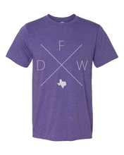Load image into Gallery viewer, DFW – Dallas/Fort Worth Airport Tee - Home Sweet Pillow Co