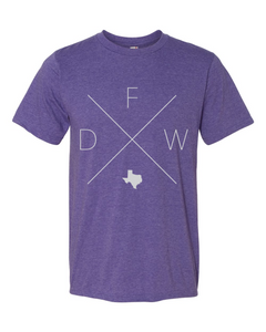 DFW – Dallas/Fort Worth Airport Tee - Home Sweet Pillow Co