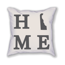 Load image into Gallery viewer, Delaware Home State Pillow - Home Sweet Pillow Co