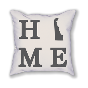 Delaware Home State Pillow - Home Sweet Pillow Co