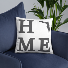 Load image into Gallery viewer, Florida Home State Pillow - Home Sweet Pillow Co