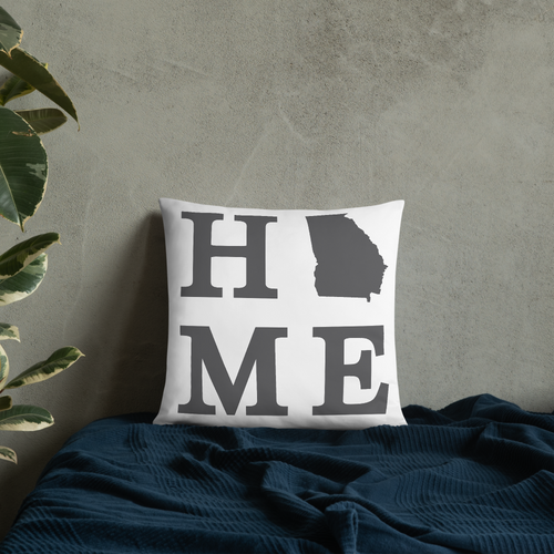 Georgia Home State Pillow - Home Sweet Pillow Co