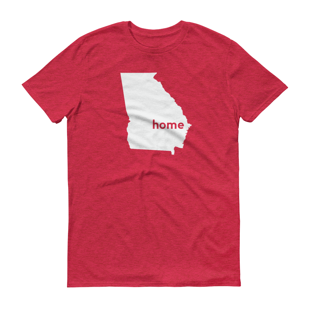 Georgia Home T-Shirt - Home Sweet Pillow Co